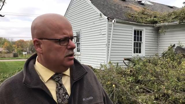 Delaware County Commissioner Shannon Henry issued a safety message after the tornado for all residents within the county.