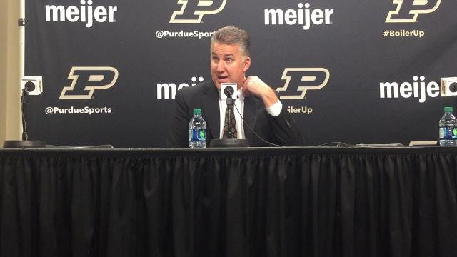 The Boilermakers coach improved to 12-1 in season openers with Friday's victory.