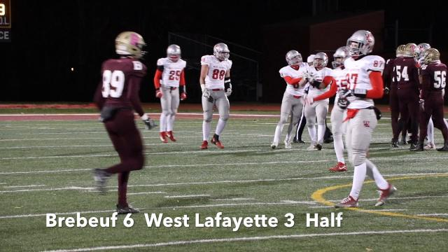 A late kickoff return lifted the Braves past West Side for the Regional title.