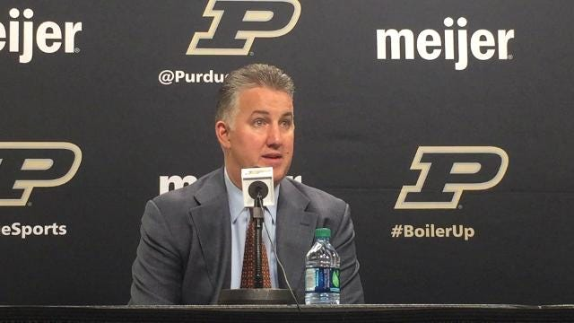 The Boilermaker coach discusses his team's record 3-point performance and looks ahead to the Battle 4 Atlantis.