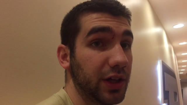 "Purdue G Dakota Mathias: ""We learned we can win ugly at times."""