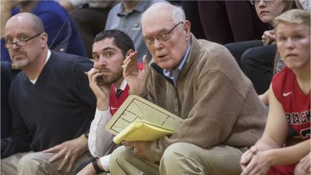 With the help of Jerry Hoover, 83, and a freshman phenomenon, Blackford hoops is starting its season 3-0.