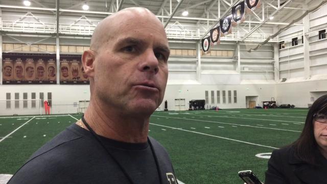 Purdue football: Nick Holt on bowl preparation