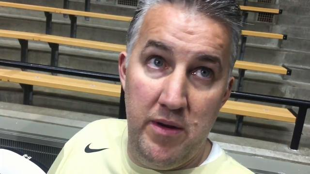 Purdue coach Matt Painter on Butler