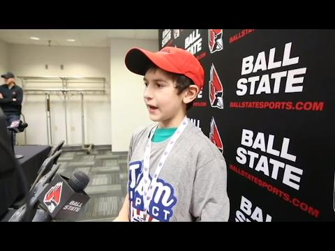9-year-old signs to Ball State's men's golf team during special Draft Day