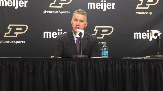 Purdue 82, Rutgers 51: Matt Painter reaction