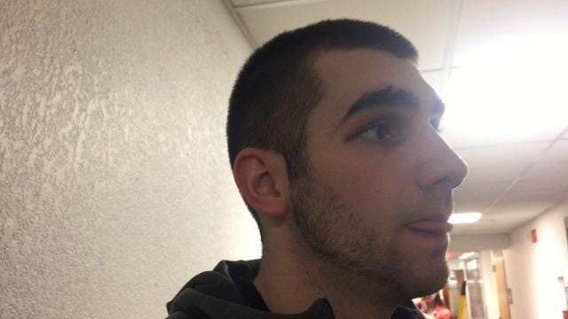 Purdue 81, Minnesota 47: Dakota Mathias reaction