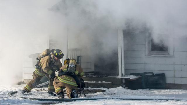 A house fire in the 2000 block of South Rosemont Avenue on Jan. 18 sent plumes of dark smoke across the neighborhood.