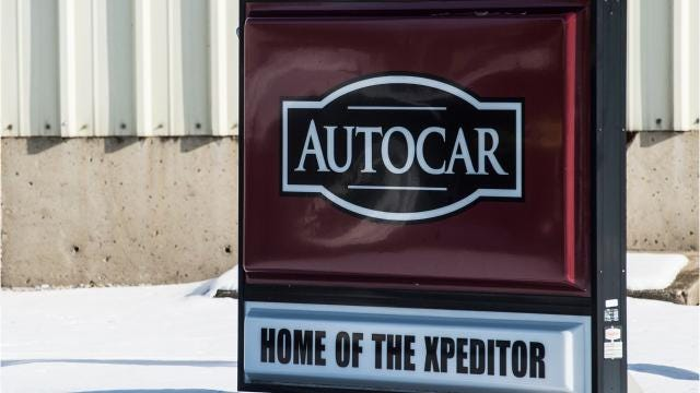 Autocar Trucks cut 70 hourly employees Jan. 4 following a downturn in production.