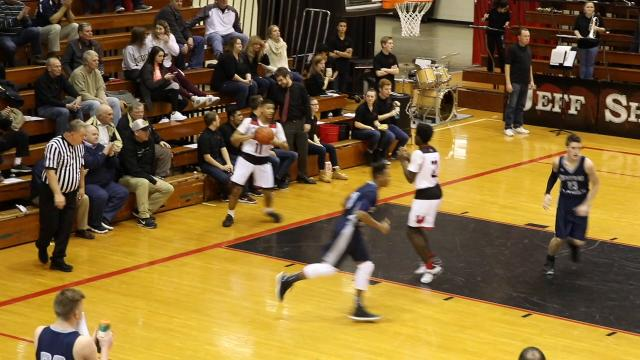 The Bronchos survived CC's buzzer beater to force OT.