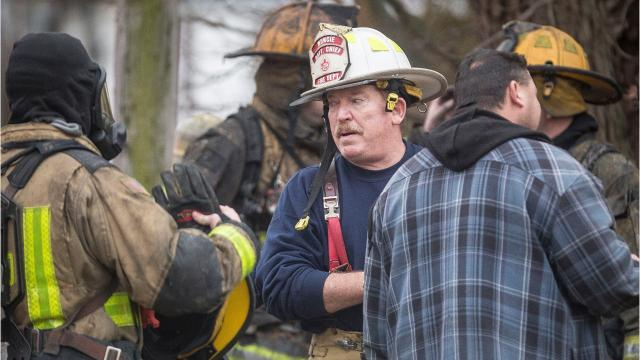 The Muncie Fire Department was busy Monday as its crews were called from one fire scene to another on Muncie's south side.
