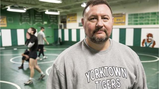 The coach is leaving a lasting legacy in Delaware County wrestling.