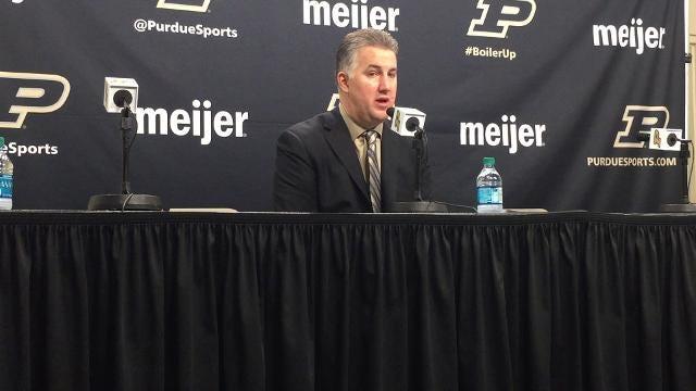 Purdue 76, Penn State 73: Matt Painter reaction