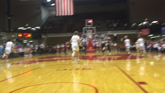 Mt. Vernon, New Palestine, won semifinal games at IHSAA Class 4A Sectional 9 at Richmond.
