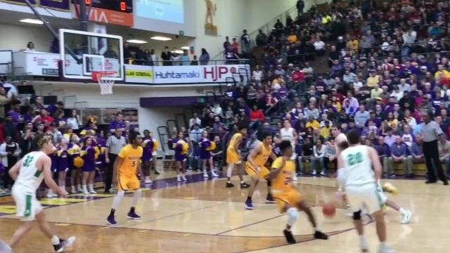 New Castle's top plays against Marion in the regional championship.