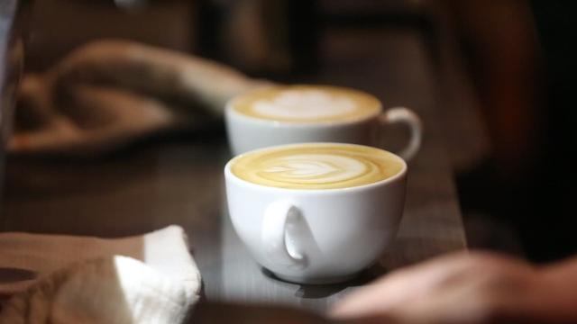 Coffee lovers came out to see the intricacies of making lattes look so good, as a handful of baristas competed to see who could make the best one.