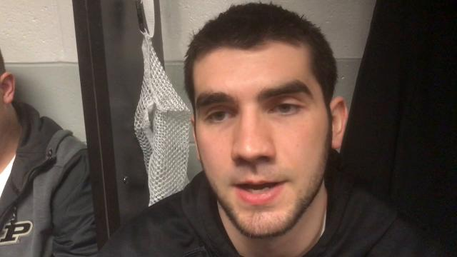 """Purdue's Dakota Mathias: """"We've got to be strong with the ball."""""""