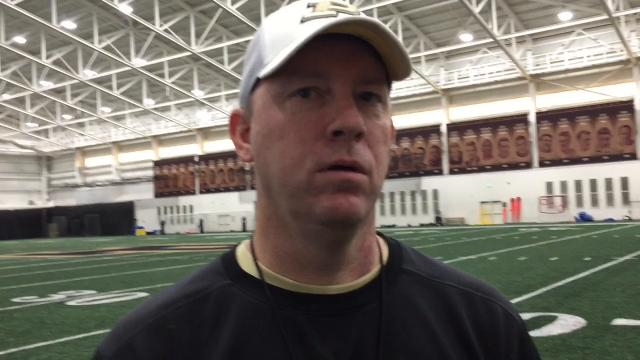 The Boilermakers surpassed the halfway mark of spring practice. What has Brohm liked and what's next before the April 7 spring game