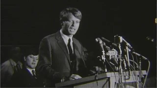 Robert Kennedy spoke in Muncie on Thursday, April 4, arriving at the airport in Muncie and going to the Ball State University campus for a speech. It would later be overshadowed for his speech later that day following the assassination of Dr. Martin Luther King.