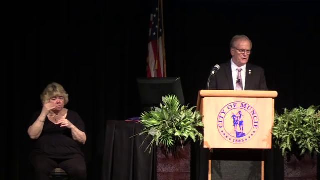 Mayor Dennis Tyler's annual State of the City address.