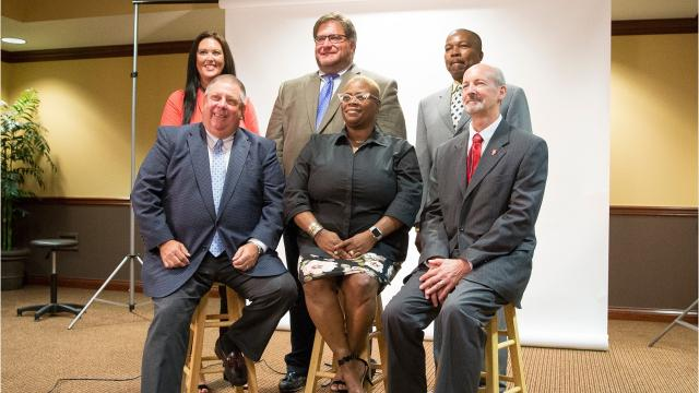"""Ball State president calls the appointment of new school board the dawn of """"a new day"""". We managed to speak with officials and the new board after their selection about the new school board and what it means for the Muncie Community."""