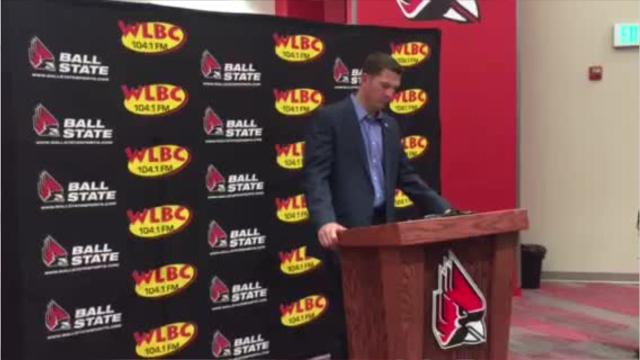 Mike Neu after Ball State's loss to Western Kentucky