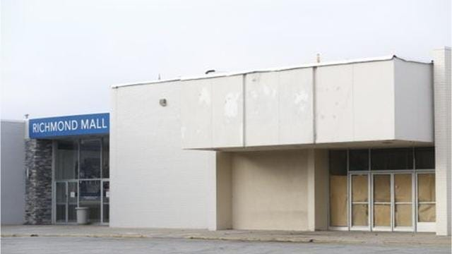The former Sears space at the Richmond Mall will get a new tenant next year in the former of Dunham's Sports.