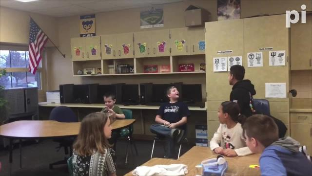 Joshua Idle, a fourth-grader at Fairview Elementary School in Richmond, was involved in an accident in Dec. 2018. Two of his classmates, D. J. Allen and Javeonte Johnson, created a 'store' in which they sold drawings for $1 and raised money to surprise Joshua and his younger brother with an Xbox One S.