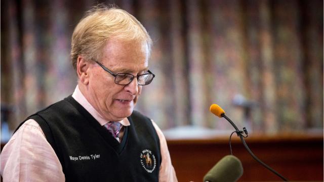 Muncie Mayor Dennis Tyler announcedFriday that he will not seek re-election.