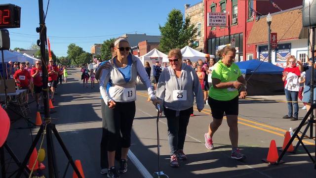 Rachel Kolar races again