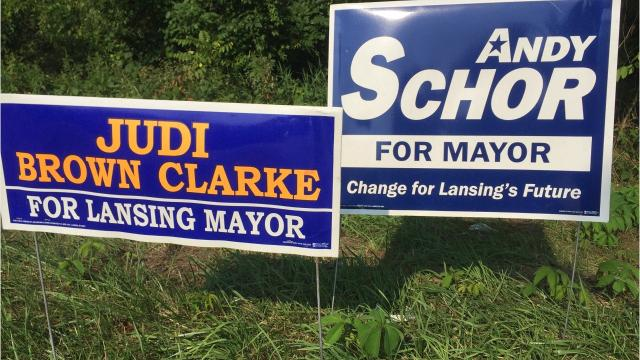 At-Large City Council Member Judi Brown Clarke and State Rep. Andy Schor made it out of Lansing's Aug. 8 primary election and will compete in the Nov. 7 general election to decide who gets the city's top job. Mayor Virg Bernero decided in February, after 12 years in office, that he wouldn't seek re-election.