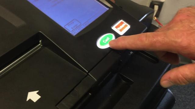 See how Lansing's new voting machines work
