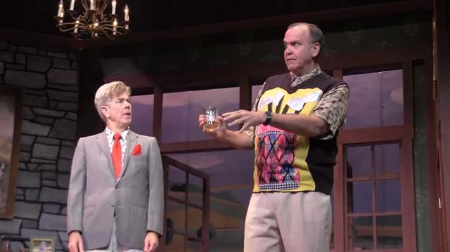 In this comedic farce, doors are slammed, balls are hit and bets are made. For more information, check out tibbits.org.