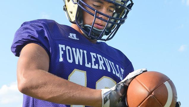 Get to know Fowlerville football player J.T. Maybee