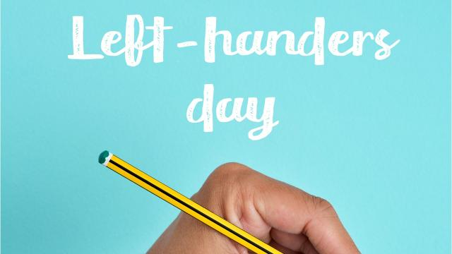 August 13 is Left-Handers Day! Here are a few famous lefties.