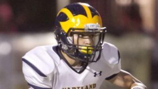 Get to know Hartland football player Reece Potter