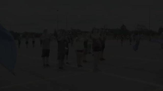 Northville High's marching band camp practices on Aug. 18 as it prepares for the upcoming halftime season of performances.
