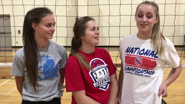 PCA volleyball captains talk about defending state title