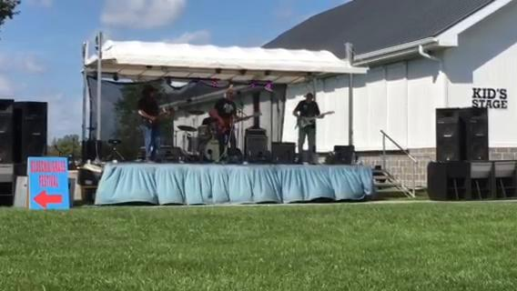 BlueBlaze opens the show at the BlueChiliGrass Festival on Sunday, Sept. 3. Among the lineup was The Gasoline Gypsies and The Haberdasher.