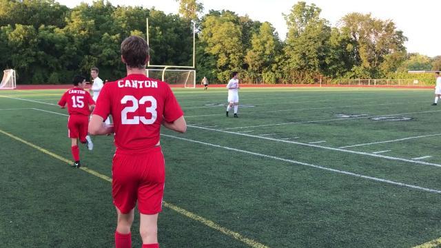 KLAA soccer teams do battle at Livonia Churchill.