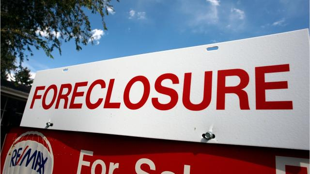 Ten years after the Great Recession, Greater Lansing home foreclosures are officially back to pre-recession levels, according to data from the firm RealtyTrac.