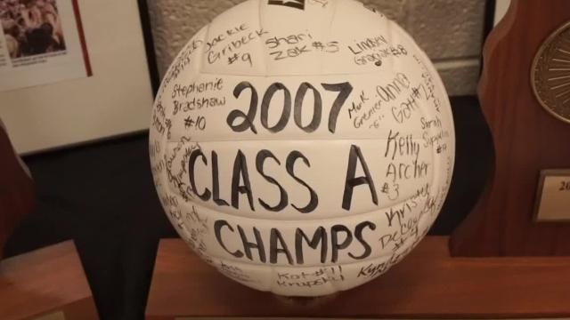 10 year after: Churchill HS honors 2007 State volleyball champs