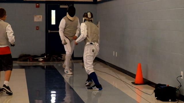 A look into the Blue Water Fencing Club.