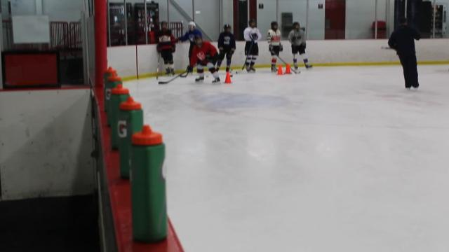 Girls fall skate at Orchard Lake St. Mary's