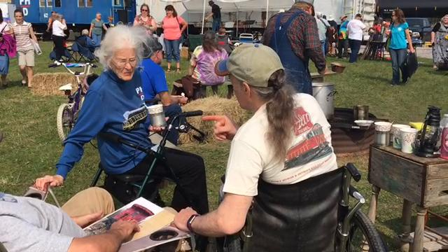 The Port Huron and Detroit Railroad Historical Society's 13th Hobo Fest was on Saturday, Sept. 16, by the railroad tracks at the end of 32nd Street in Port Huron Township. The event celebrates rail history and migrants who used trains to find work.