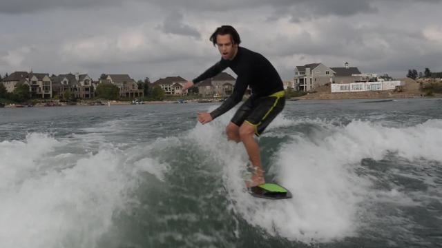 Nick Parros, 17, a Detroit Catholic Central senior and South Lyon resident is the No. 3 ranked wakesurfer and will compete in world championships Sept. 21-23.