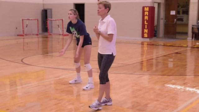 Mercy volleyball is a traditional area powerhouse.