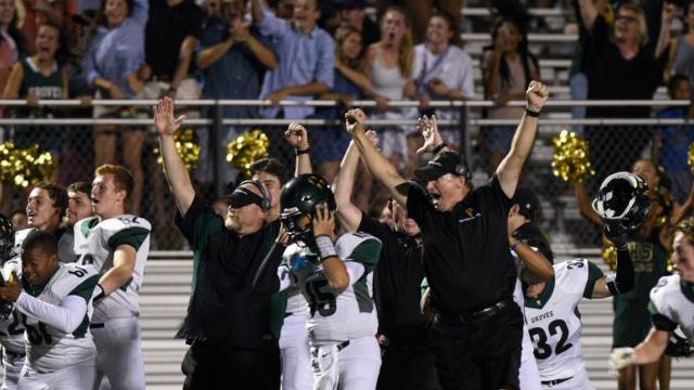 Birmingham Groves traveled to Farmington Hills Harrison for the HTLSports Game of the Week and what a game it was going three overtime periods before Groves converted a 2-point conversion for the win.