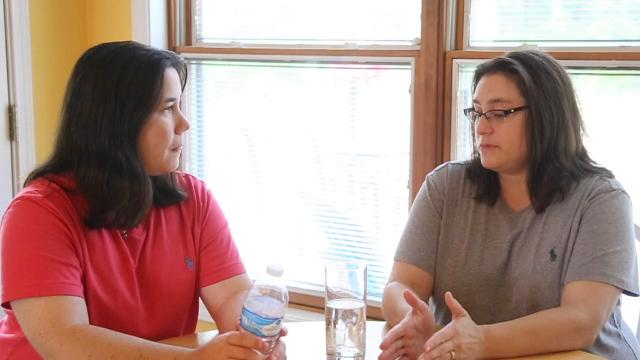 Kristy and Dana Dumont have been married for six years. They talk about how they met, where they got married, and their desire to become foster parents with hopes to ultimately adopt. Two agencies turned them down. Find out why.