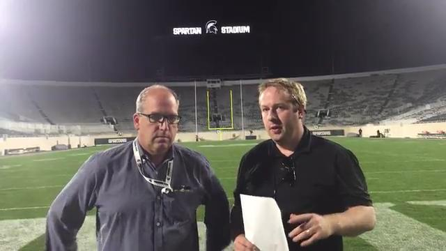Lansing State Journal columnist Graham Couch and Detroit Free Press columnist Shawn Windsor break down the Spartans' 17-10 win over the Hawkeyes and look ahead to next week's game at Michigan.